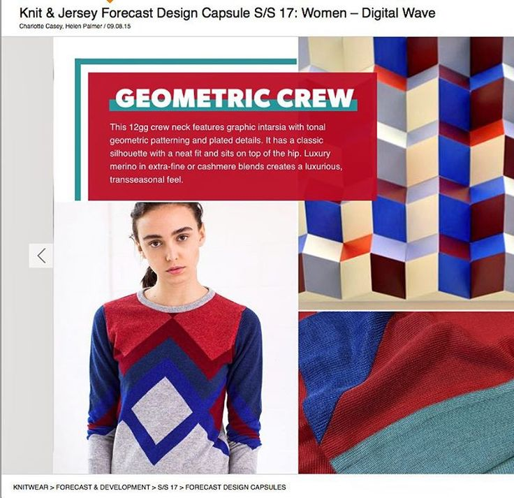 Featured on WGSN trend report for SS17
